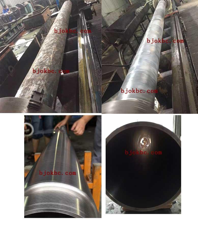 钛管靶加工现场